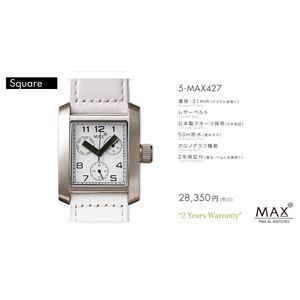 MAX XL WATCH 【マックス ウォッチ】 腕時計 5-MAX427 31mm FACE LINE