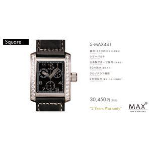 MAX XL WATCH 【マックス ウォッチ】 腕時計 5-MAX441 31mm FACE LINE