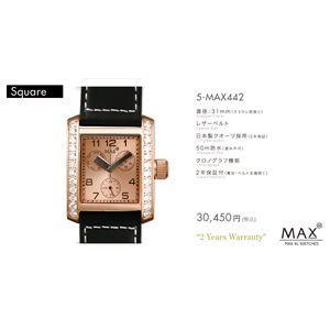 MAX XL WATCH 【マックス ウォッチ】 腕時計 5-MAX442 31mm FACE LINE