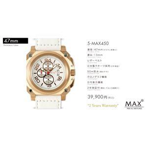 MAX XL WATCH 【マックス ウォッチ】 腕時計 5-MAX450 47mm FACE LINE