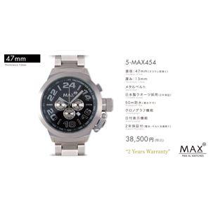 MAX XL WATCH 【マックス ウォッチ】 腕時計 5-MAX454 47mm FACE LINE