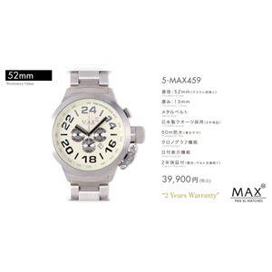 MAX XL WATCH 【マックス ウォッチ】 腕時計 5-MAX459 52mm FACE LINE