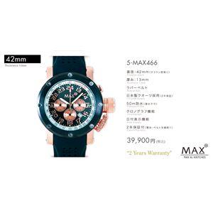 MAX XL WATCH 【マックス ウォッチ】 腕時計 5-MAX466 42mm FACE LINE
