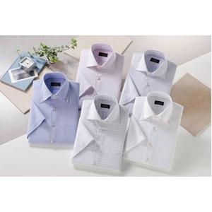 ドゥエボットーニシャツ5枚組 サイズ3L 半袖ワイシャツ 50169