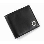 GUCCI(グッチ) 二つ折り財布 212170 BECON 1000 カーフ(ブラック)