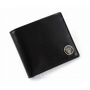 GUCCI(グッチ) 二つ折り財布 181657 A490S 1000 カーフ ブラック