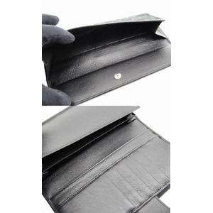 GUCCI(グッチ) Wホック長財布 212089 FFP5G 1000 キャンバス×カーフ ブラック