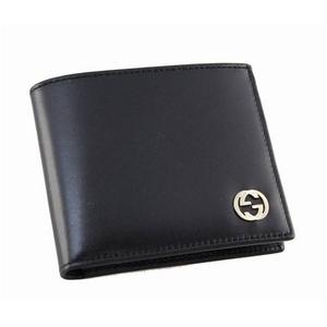GUCCI(グッチ) 財布 233077 A490G 1000 カーフ ブラック