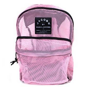 MARC BY MARC JACOBS(マークバイマークジェイコブス) 210064 メッシュバックパック ピンク