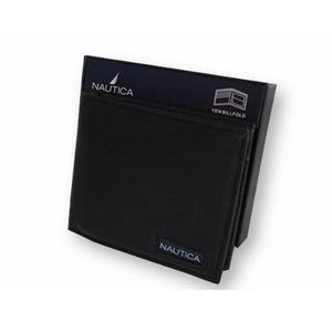 NAUTICA ノーティカ 6183-01 BK 2つ折り財布