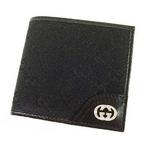 GUCCI(グッチ) 181671-FAFXN-1000 ブラック 2つ折り財布
