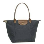 longchamp(ロンシャン) LE PLIAGE1899 SAC SHOPPING D.GY トートバッグ