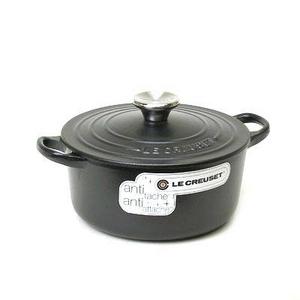 Le Creuset(ル・クルーゼ) ココットロンド 鍋(パン) 18cm 2501-18 BK