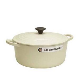 Le Creuset(ル・クルーゼ) ココットロンド22cm 2501-22 IV 鍋(パン)