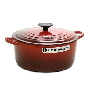 Le Creuset(ル・クルーゼ) ココットロンド22cm 2501-22 RED 鍋(パン)
