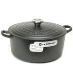 Le Creuset(ル・クルーゼ) 鍋(パン) ココットロンド24cm 2501-24 BK