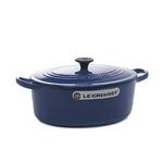 Le Creuset(ル・クルーゼ) 鍋(パン) ココットオーバル25cm2502-25 BL