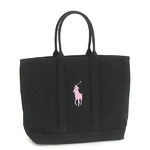 RalphLauren(ラルフローレン) PINK PONY426-PPTP MEDIUM TOTE D.GY トートバッグ