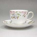 Wedgwood(ウェッジウッド) カップ&ソーサー WWスウィートプラム Sweet Plum Teacup Leigh &saucer 5013380406402001