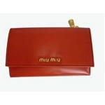 MIUMIU(ミュウミュウ) 5M1097 276 PAPRIKA 財布 札入れ