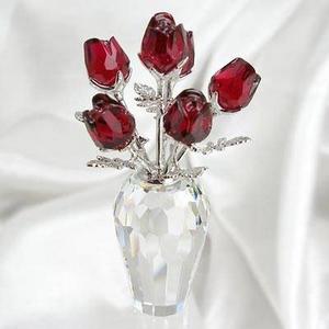 Swarovski(スワロフスキー) フィギュア 627098 赤いバラ