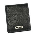Salvatore Ferragamo(サルヴァトーレ フェラガモ) MENS668563 MILANO BK 2つ折り小銭入れ付き財布