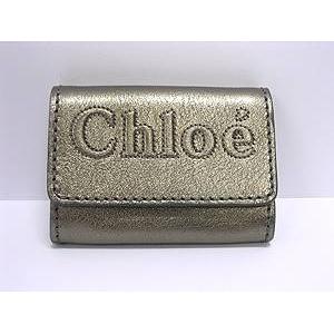 CHLOE(クロエ) 7AP664 7A735 090 ARGENT カードケース