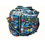 "LESPORTSAC(レスポートサック) Collection ""Artist in Residence Merjin Hos"" 3Day Weekender 87543827 BL"