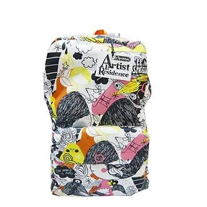 "LESPORTSAC(レスポートサック) Collection ""Artist in Residence Merjin Hos"" Sleepaway Back Pack 8755"