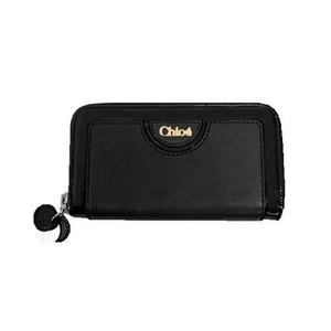 CHLOE(クロエ) 8HP560 8H872 001 ラウンドファスナー長財布 ブラック