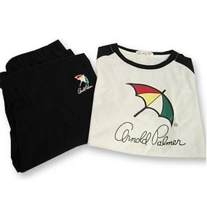 Arnold Palmer(アーノルドパーマー) APJ-01 Tシャツ上下 ブラック M