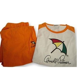 Arnold Palmer(アーノルドパーマー) APJ-01 Tシャツ上下 オレンジ L