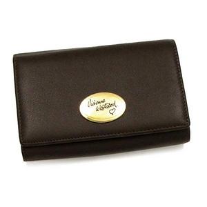 Vivienne Westwood(ヴィヴィアンウエストウッド) BERKELEY 2232 DB 2つ折りL字ファスナー財布
