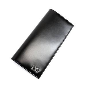 Dolce&Gabbana(ドルチェ&ガッバーナ) BP1320 A5476 80999 ロゴメタル付き 長札入れ