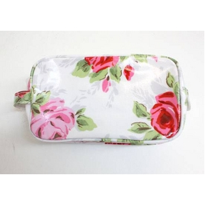 CATH KIDSTON(キャスキッドソン) cosmetic bag w/pocket rose コスメポーチ