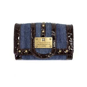 clear crea(クリアクレア) FOLDED WALLET(財布) CGOS-065-91-11 BLUE