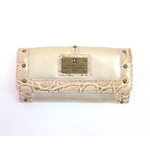 clear crea(クリアクレア) FOLDED WALLET(財布) CGOS-065-91-16 BEIGE