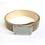 Dolce&Gabbana(ドルチェ&ガッバーナ) BC2529 A6321 80004 ロゴプレートバックル レザーベルト