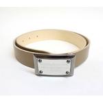 Dolce&Gabbana(ドルチェ&ガッバーナ) BC2530 A6321 80004 ロゴプレートバックル レザーベルト 95cm