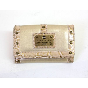 clear crea(クリアクレア) FOLDED WALLET(財布) CGOS-065-91-17 BEIGE