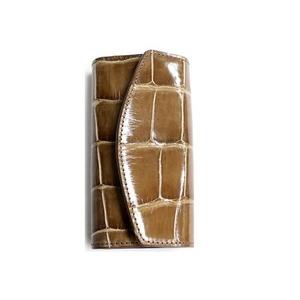 クロコダイル革 6連キーケース CROCODILE 1920 brown
