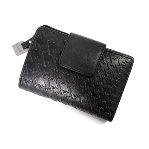 DIESEL(ディーゼル) 2009新作 2つ折り財布 00XG02-PR605-T8013 レザーブラック