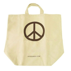 DOGEARED(ドギャード) エコバッグ Peace