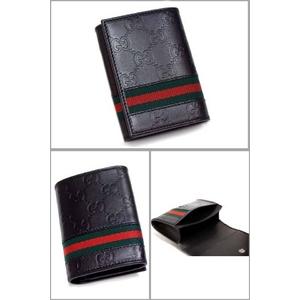 GUCCI(グッチ) 138043-A0VBR-1060 カードケース ブラック