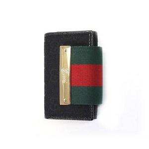 GUCCI(グッチ) 181673-F4FOG-1060 6連キーケース ブラック