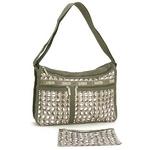 LESPORTSAC(レスポートサック) ジャスパー7507 DELUXE EVERYDAY BAG ショルダーバッグ