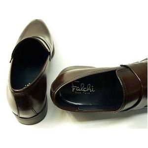 Falchi New York(ファルチ ニューヨーク) FN-009 BR 紳士靴 ビジネスシューズ ブラウン  ブラウン 27