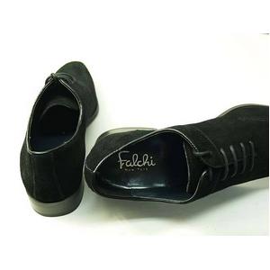 Falchi New York(ファルチ ニューヨーク) FN-011 SWBK 紳士靴 ビジネスシューズ ブラック  スウェードブラック 27