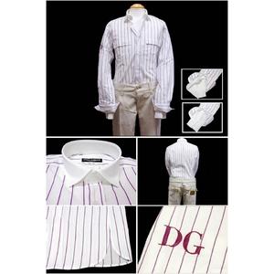 Dolce&Gabbana(ドルチェ&ガッバーナ) シャツG5296Z FR5HS S8052 42