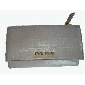 MIUMIU(ミュウミュウ) 5M1097 NKG TALCO 財布 札入れ